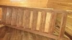 Деревянная лестница на дачу