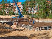 Новый детский сад - ход строительства