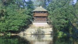 Баня на берегу реки Систа