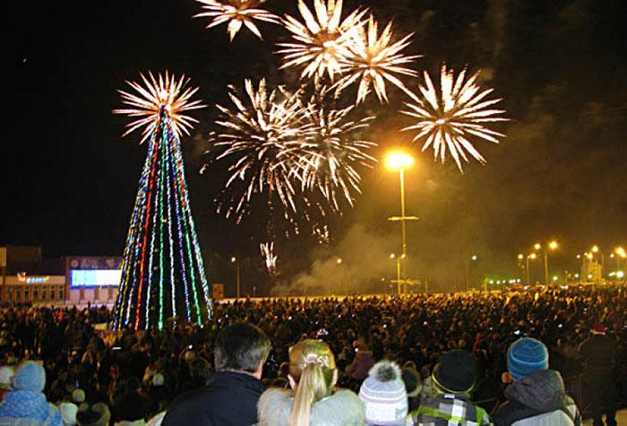 Новый год в Сосновом Бору 2019 – программа празднования