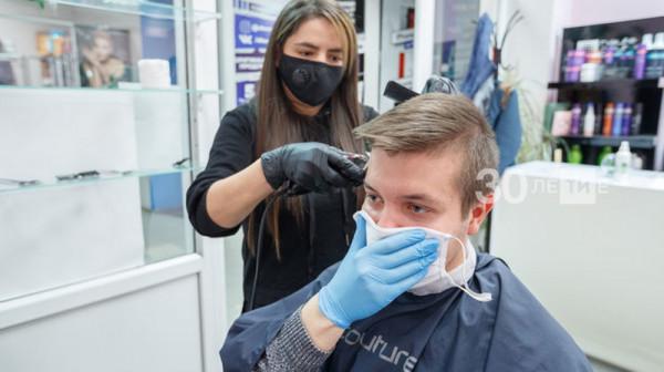 Парикмахерские и салоны красоты возобновили работу